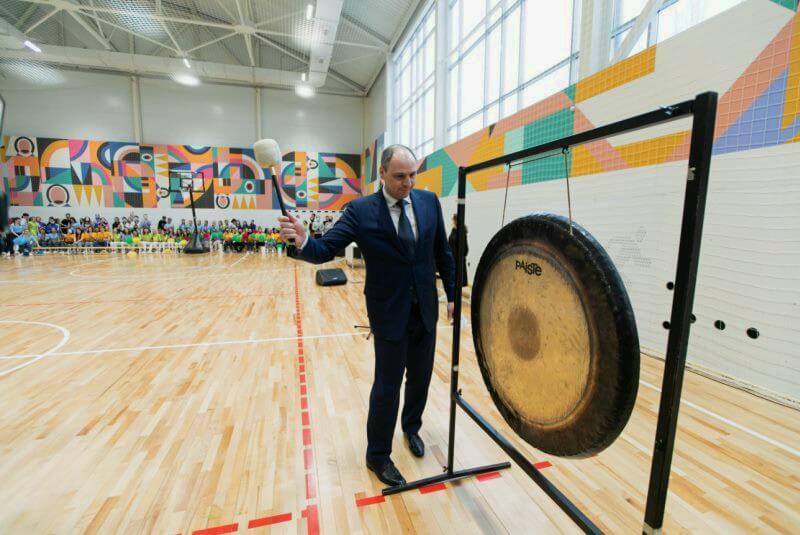 Спорткомплекс для студентов сферы культуры открыли в Оренбурге