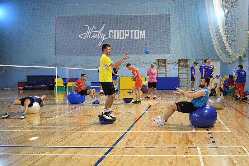 Предолимпийский сбор российских бадминтонистов