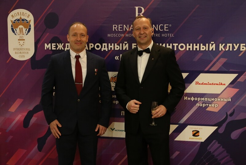 В Москве открылся международный бадминтонный клуб МОНАРХ