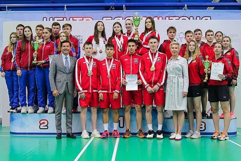 Завершился турнир по бадминтону V летней Спартакиады молодежи России 2021