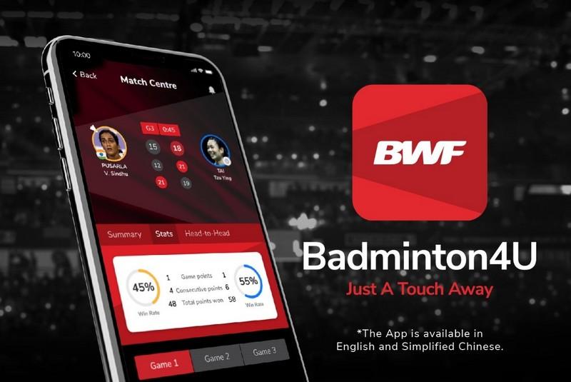 BWF запустило мобильное приложение Badminton4U