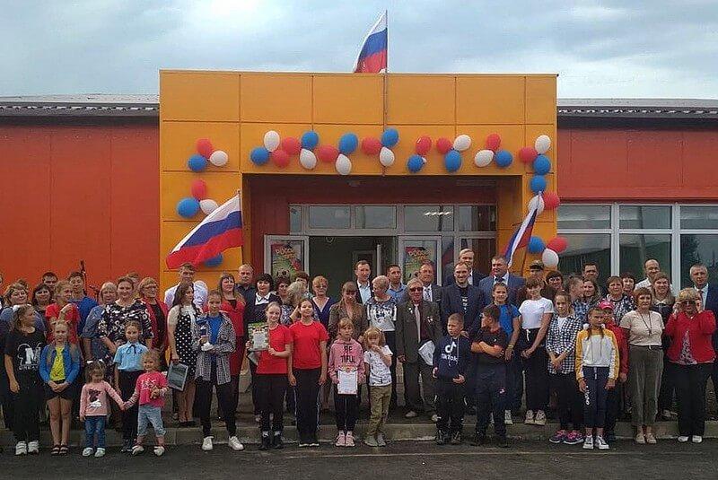 Новый СОК открыли в селе Знаменское