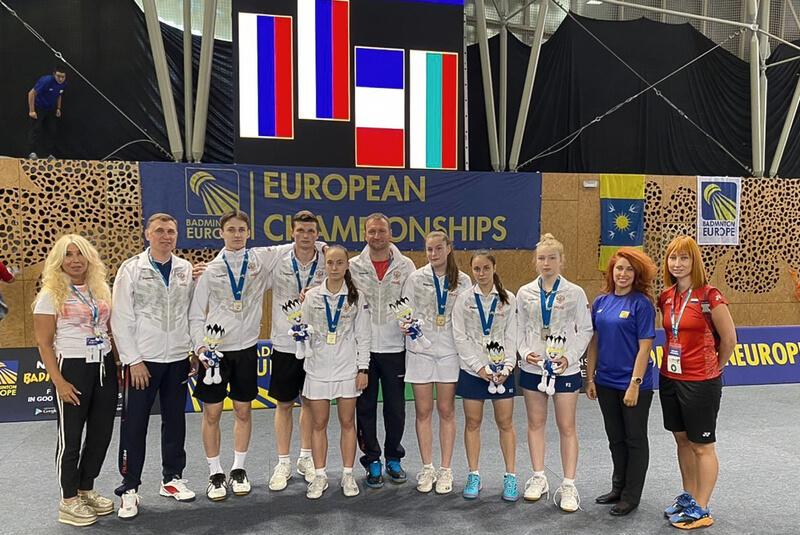 Ещё золото и два серебра на чемпионате Европы 2021 до 17 лет