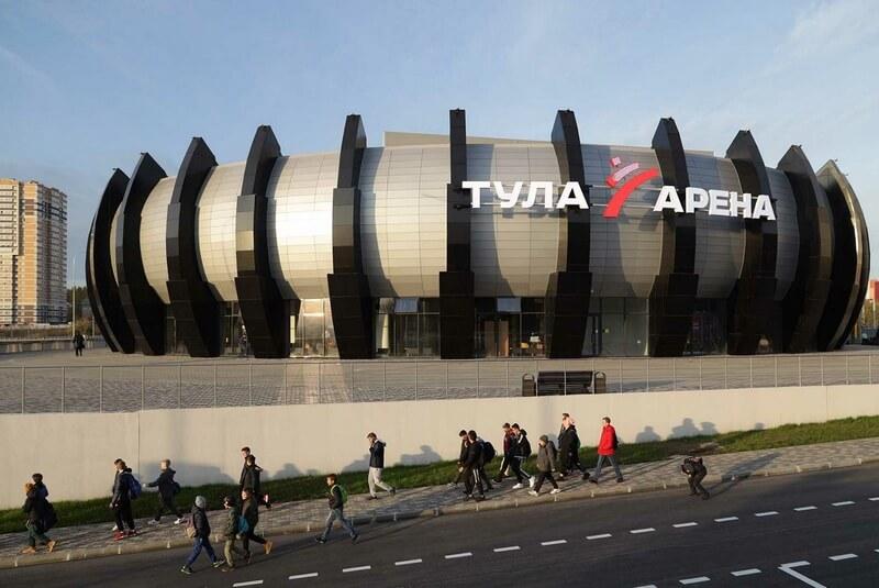 Открыт новый многофункционального спорткомплекс «Тула-Арена»